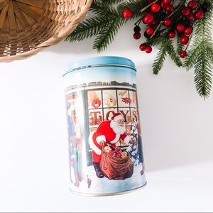 Vintage M&Ms Christmas Holiday Tin